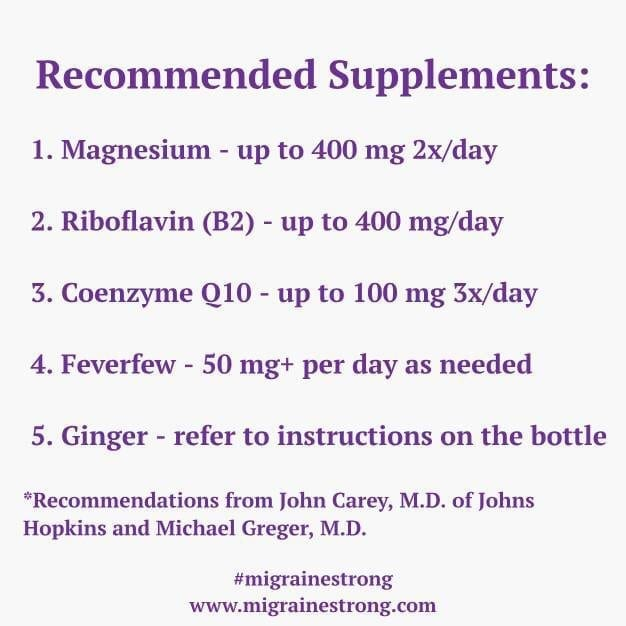 Recommended Supplements