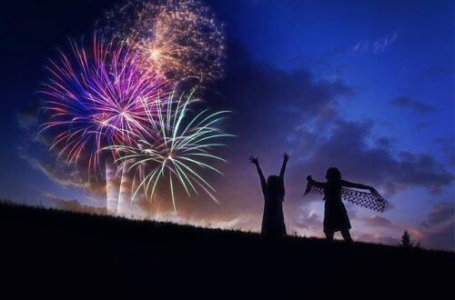 fireworks and migraine for special occasions