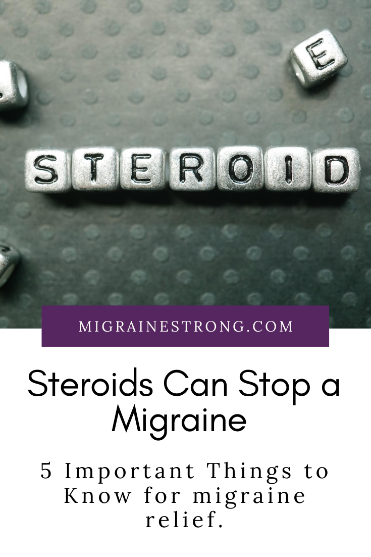 Prednisone for Migraine Explained –    5 Questions & Answers You Need to Know.