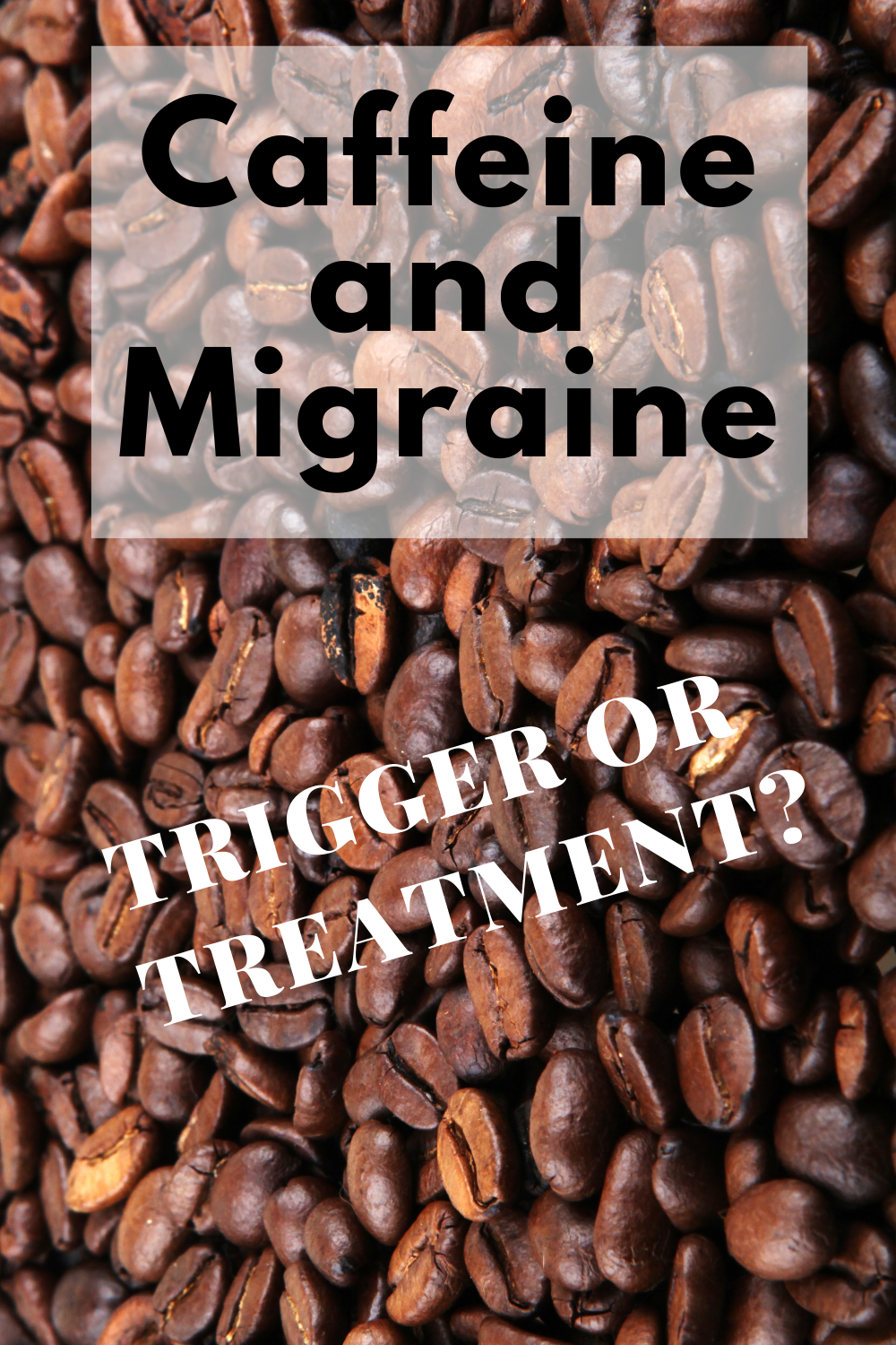 Caffeine and Migraine - Trigger or Treatment