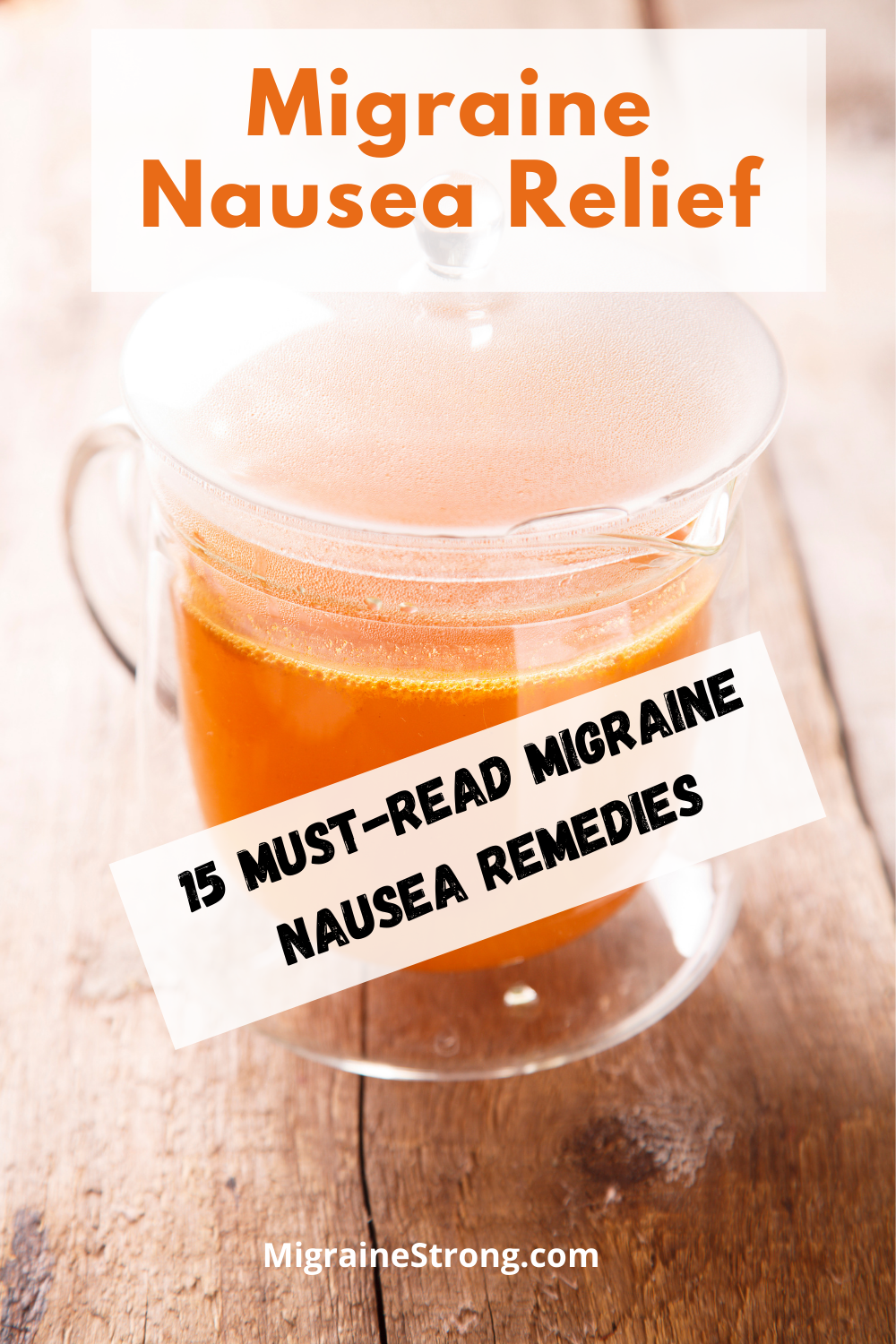 Migraine Nausea Relief: 15 Tips to Help You Find Relief Now