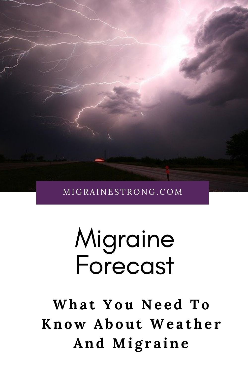 Migraine Forecast - What You Need To Know About Weather